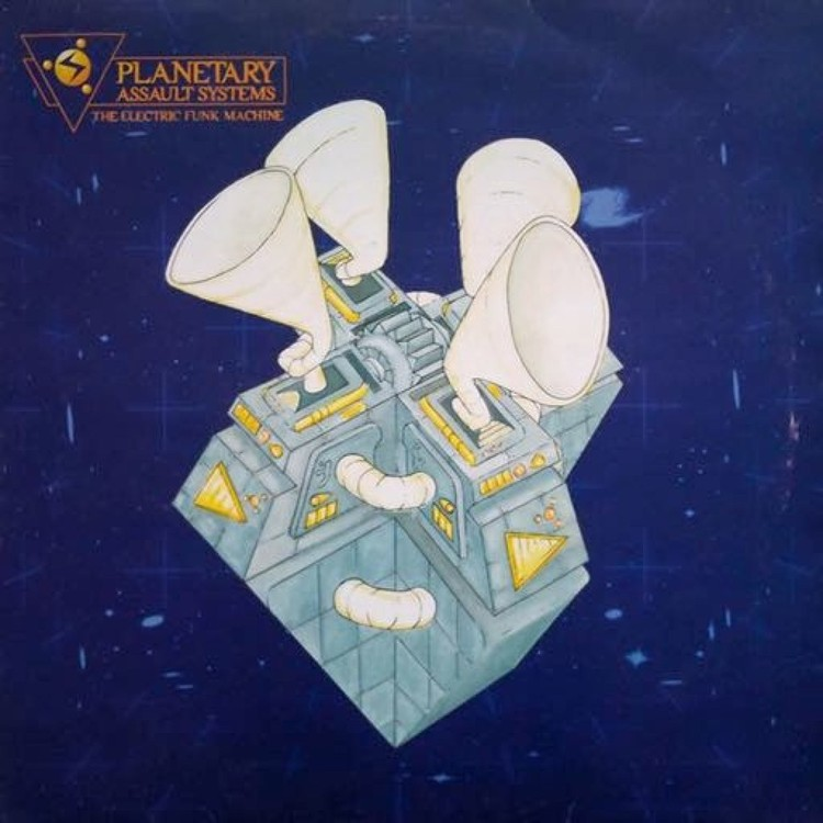 Planetary Assault Systems - The Electric Funk Machine (Ltd. Reissue 2LP) [2LP]