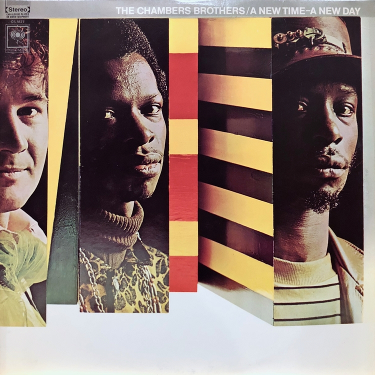 The Chambers Brothers - A New Time - A New Day [LP]