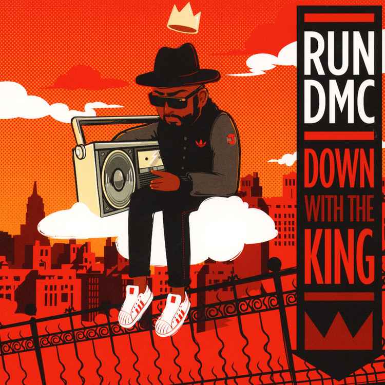 "Run DMC - Down With The King [7""]"