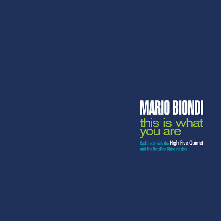 "Mario Biondi - This Is What You Are (Radio Edit/ Brazilian Rime) [7""]"