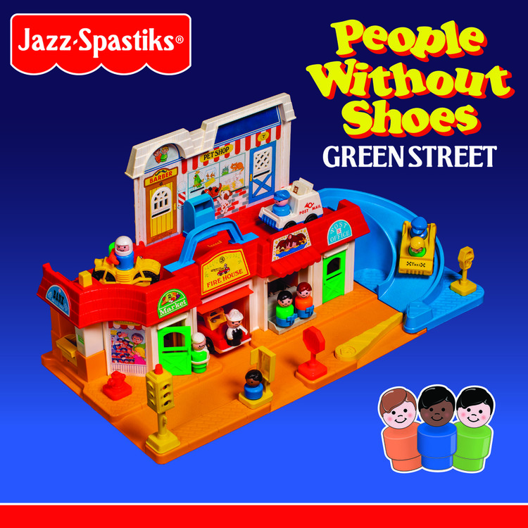 Jazz Spastiks & People Without Shoes - Green Street [2LP]