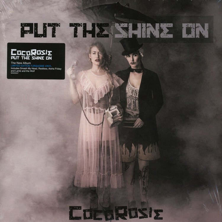 Cocorosie Put The Shine On Gatefold Cover Coloured