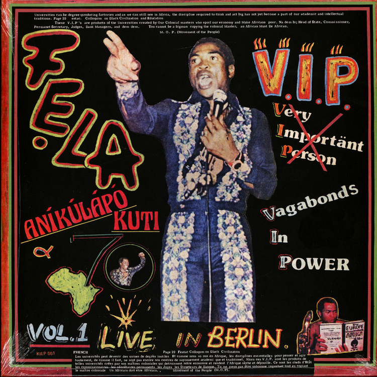 Fela Kuti - V.I.P. (Vagabonds In Power) [LP]