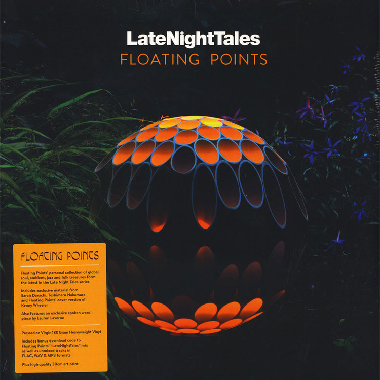 Floating Points - Late Night Tales (Gatefold 180g 2LP+MP3+Poster) [2LP]