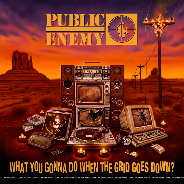 Public Enemy - What You Gonna Do When The Grid Goes Down? [CD]