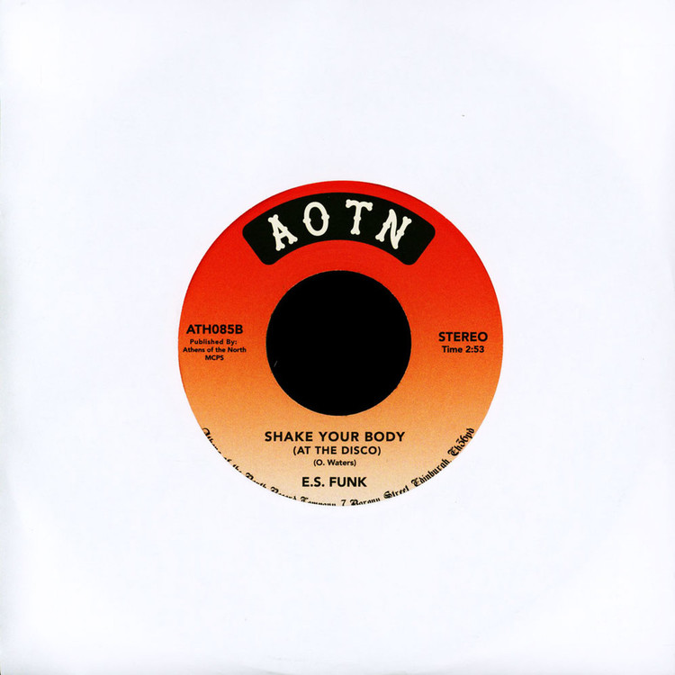"E.S. Funk - Funny Feeling / Shake Your Body [7""]"