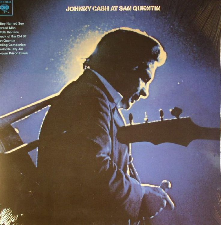 Johnny Cash - At San Quentin [LP]