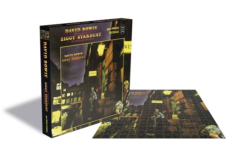 David Bowie - The Rise And Fall Of Ziggy Stardust And The Spiders From Mars (500 Piece Puzzle) [szt.]