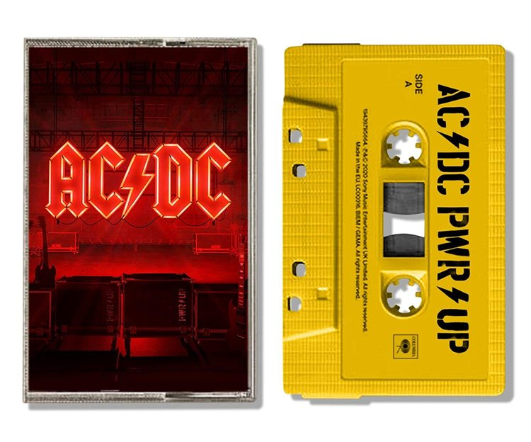 AC/DC - Power Up (Yellow Cassette) [kaseta]