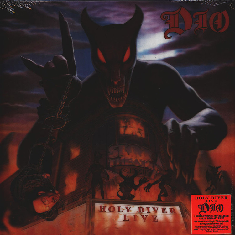 Dio - Holy Diver Live (Lenticular Limited Edition) [3LP]