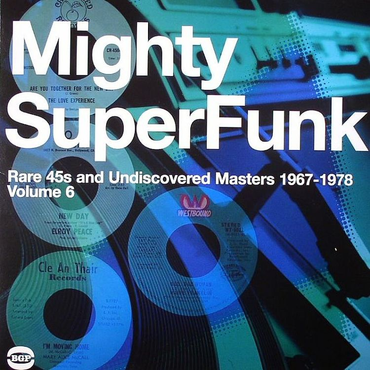 VA - The Mighty Super Funk - Rare 45s And Undiscovered Masters 1967-1978 [2LP]