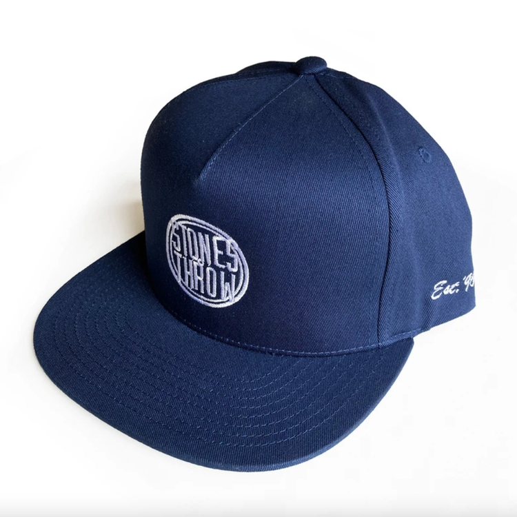 Czapka Stones Throw - 5 Panel Baseball Cap - navy [czapka]
