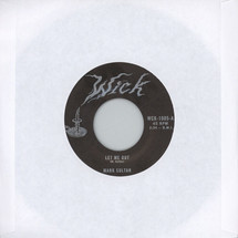 "Mark Sultan - Let Me Out/ Be The Blood [7""]"