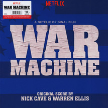 Nick Cave & Warren Ellis - War Machine OST (Red Vinyl Edition) [2LP]
