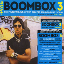 VA - Boombox 3: Early Independent Hip Hop, Electro & Disco Rap 1979-83 [2CD]