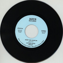 "Luther Davis - Keep On Dancin/ You [7""]"