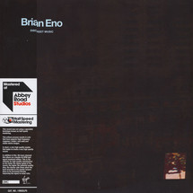 Brian Eno - Discreet Music - Limited Half Speed Mastered Edition [2LP]