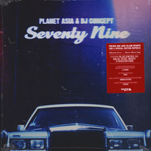Planet Asia - Seventy Nine (Limited Alternate Cover Edition) [LP]