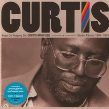 Curtis Mayfield - Keep On Keeping On: Curtis Mayfield Studio Albums 1970-1974 [4LP]