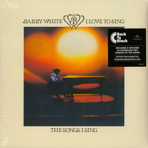 Barry White - I Love To Sing The Songs I Sing [LP]
