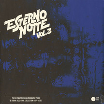VA - Esterno Notte Volume 3: The Ultimate Italian Cinematic Prog & Urban Jazz-Funk Collection (1974-1979) [2LP]